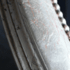 Silberner Ovalrahmen
