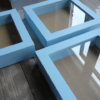 Tiefer 3D Bilderrahmen