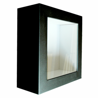 Tiefer Bilderrahmen 3D-Rahmen schwarz Objektrahmen