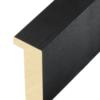 Profil 3D-Rahmen schwarz