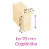 Objektrahmen Profil OMX