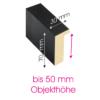 Objektrahmen Profil OSS