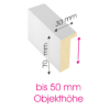 Objektrahmen Profil OSW